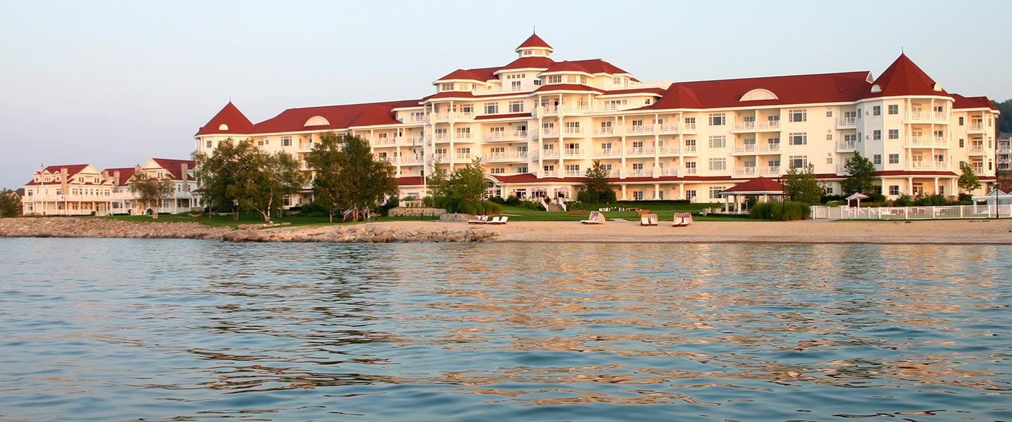 Inn at Bay Harbor from the water